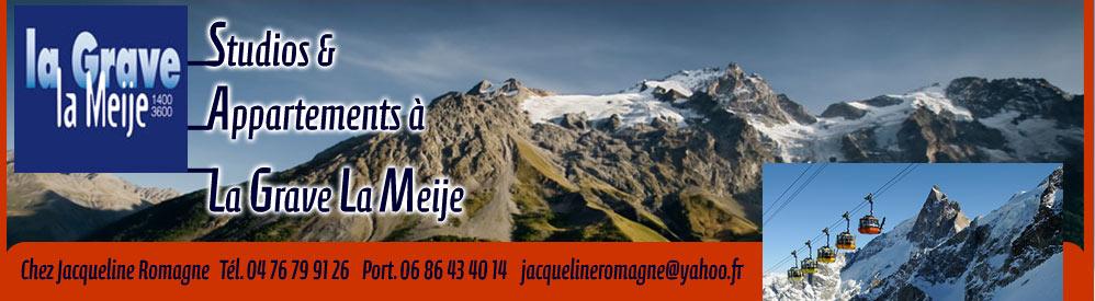 Studios & Appartements à La Grave La Meije